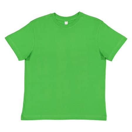 Youth Fine Jersey T-Shirt in Apple von Rabbit Skins (Artnum: LA6101