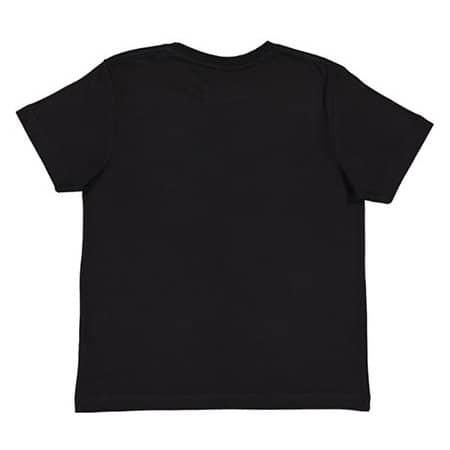 Youth Fine Jersey T-Shirt in Black von Rabbit Skins (Artnum: LA6101
