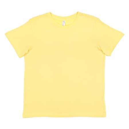 Youth Fine Jersey T-Shirt in Butter von Rabbit Skins (Artnum: LA6101
