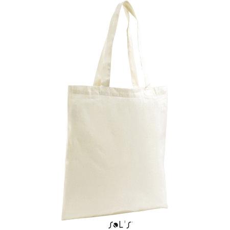 Organic Shopping Bag Zen in Natural von SOL´S Bags (Artnum: LB76900
