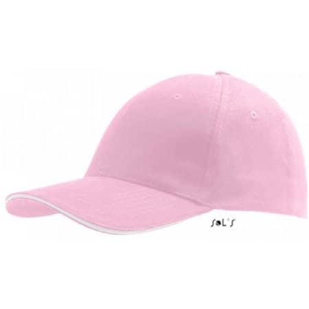 Six Panel Cap Buffalo in Pink|White von SOL´S (Artnum: LC88100