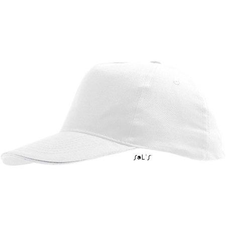 Kids` Cap Sunny in White von SOL´S (Artnum: LC88111