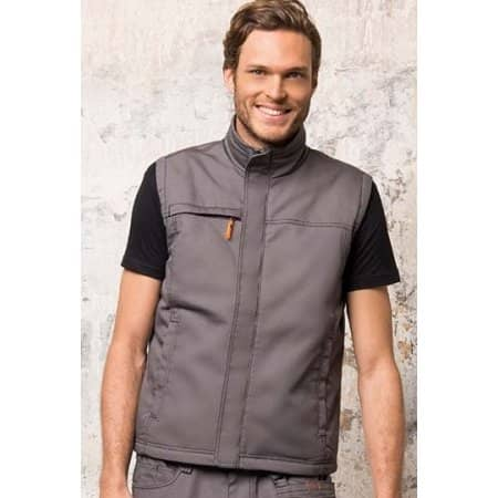 Men`s Workwear Bodywarmer - Worker Pro von SOL´S ProWear (Artnum: LP01568