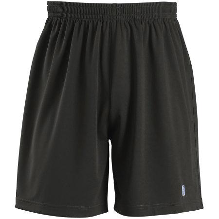 Basic Shorts San Siro 2 in Black von SOL´S Teamsport (Artnum: LT01221