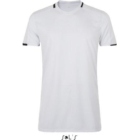 Classico Contrast Shirt in White|Black von SOL´S Teamsport (Artnum: LT01717