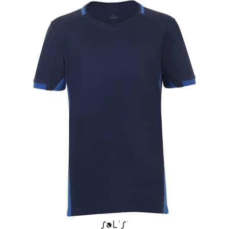 Classico Kids Contrast Shirt von SOL´S Teamsport (Artnum: LT01719