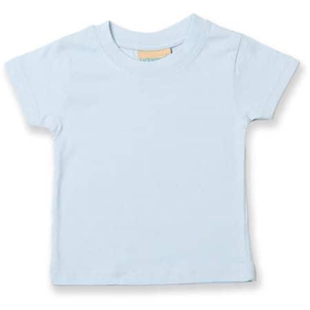 Baby-Kids` Crew Neck T-Shirt in Pale Blue von Larkwood (Artnum: LW020