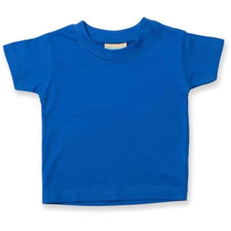 Baby-Kids` Crew Neck T-Shirt in Royal von Larkwood (Artnum: LW020
