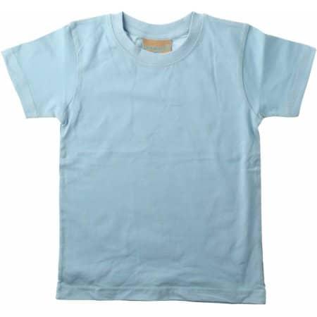 Baby-Kids` Crew Neck T-Shirt von Larkwood (Artnum: LW020