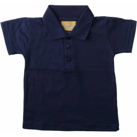 Kids` Polo Shirt von Larkwood (Artnum: LW040
