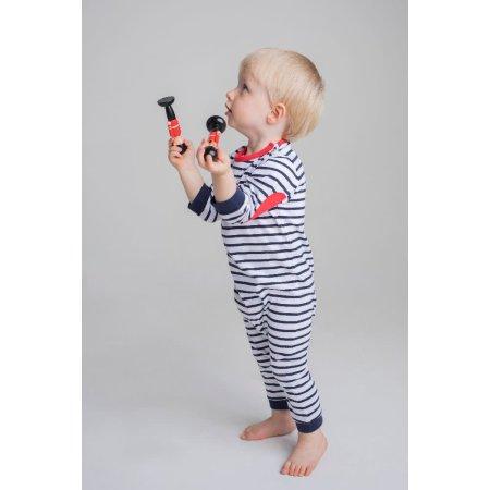 Striped Bodysuit von Larkwood (Artnum: LW057