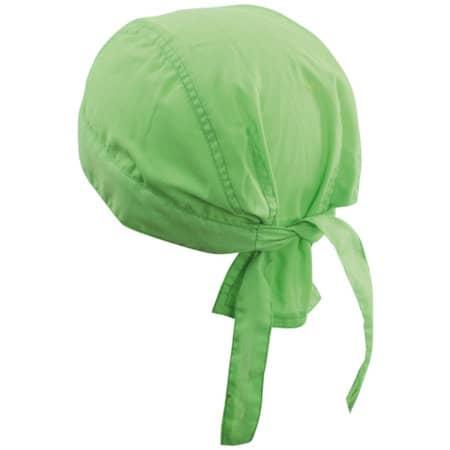 Bandana Hat in Lime Green von myrtle beach (Artnum: MB041