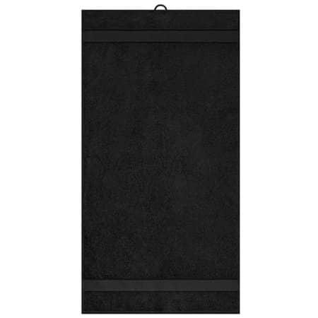 Hand Towel in Black von myrtle beach (Artnum: MB442