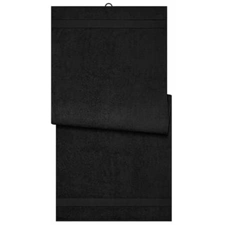 Sauna Sheet in Black von myrtle beach (Artnum: MB444