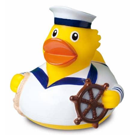 Quietsche-Ente Seemann weiß von mbw (Artnum: MBW32064