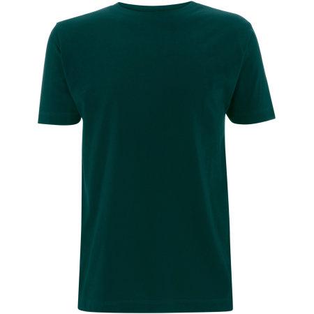 Unisex Classic Jersey T-Shirt in Bottle Green von Continental Clothing (Artnum: N03