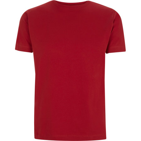 Unisex Classic Jersey T-Shirt in Stereo Red von Continental Clothing (Artnum: N03