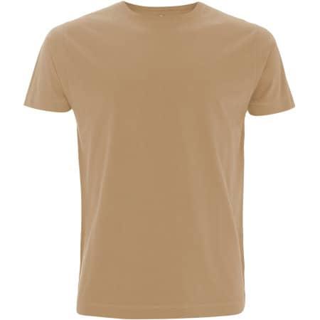 Unisex Classic Jersey T-Shirt in Camel von Continental Clothing (Artnum: N03
