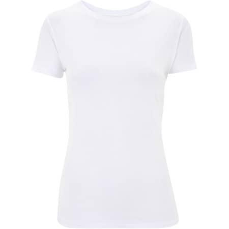 Ladies Slim Fit Jersey T-Shirt in Natural von Continental Clothing (Artnum: N12