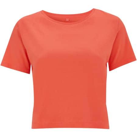 Women's Cropped Jersey T-Shirt von Continental Clothing (Artnum: N28