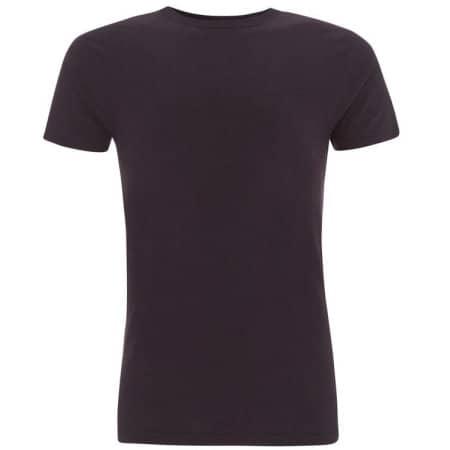 Men's Bamboo Viscose Jersey T-Shirt in Eggplant von Continental Clothing (Artnum: N45