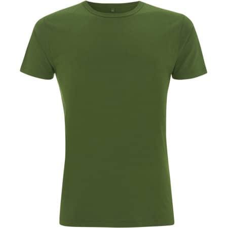 Men`s Bamboo Viscose Jersey T-Shirt in Leaf Green von Continental Clothing (Artnum: N45