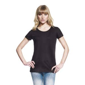 Womens's Bamboo Rolled Sleeve T-Shirt