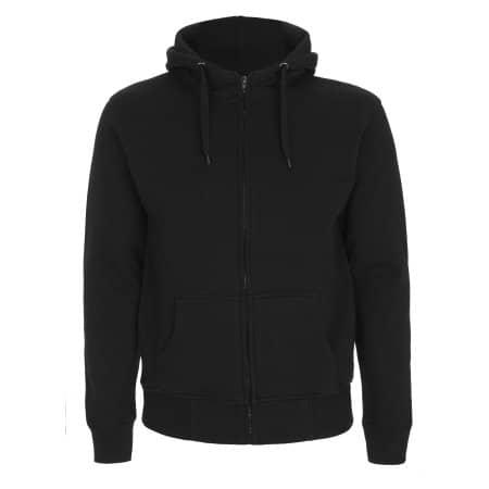 Men`s High Neck Zip Up Hoody von Continental Clothing (Artnum: N52Z
