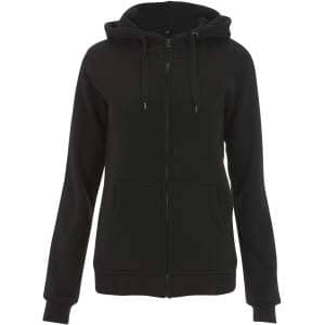 Women's High Neck Zip Up Hoody