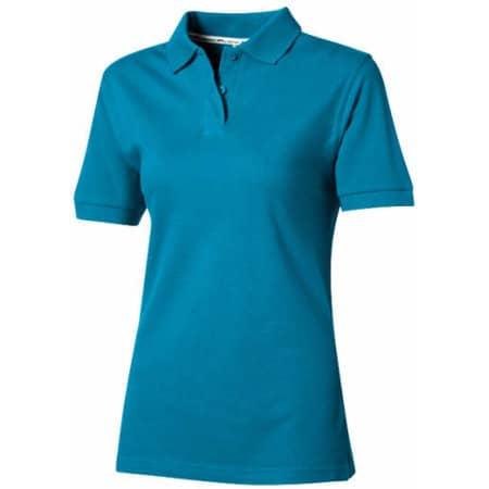 Forehand Ladies` Polo in Aqua von Slazenger (Artnum: N560