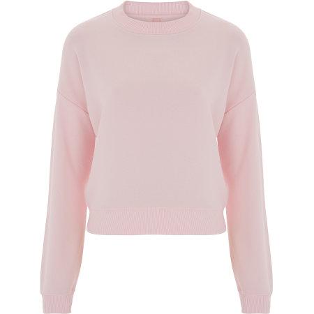 Womens Crop Sweatshirt von Continental Clothing (Artnum: N57