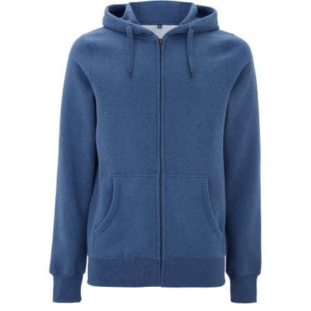 Men`s/Unisex Classic Zip Up Hoody von Continental Clothing (Artnum: N59Z