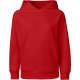 Thumbnail Hoodies in Red: Kids Hoodie Organic NE13101 von Neutral