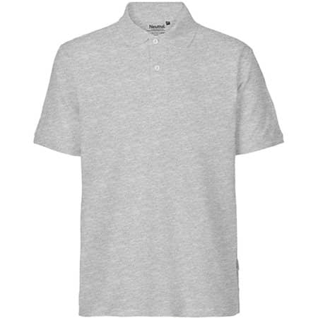 Men`s Classic Polo in Sports Grey von Neutral (Artnum: NE20080