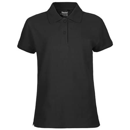 Ladies` Classic Polo in Black von Neutral (Artnum: NE22980