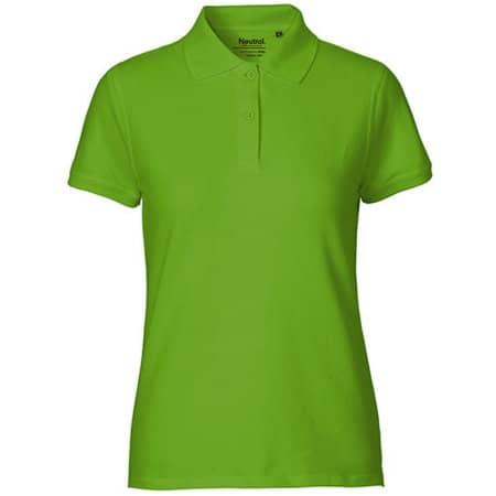 Ladies` Classic Polo in Lime von Neutral (Artnum: NE22980
