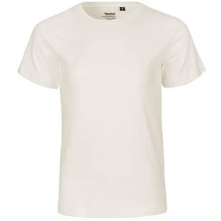 Kids` Short Sleeve T-Shirt in Natural von Neutral (Artnum: NE30001