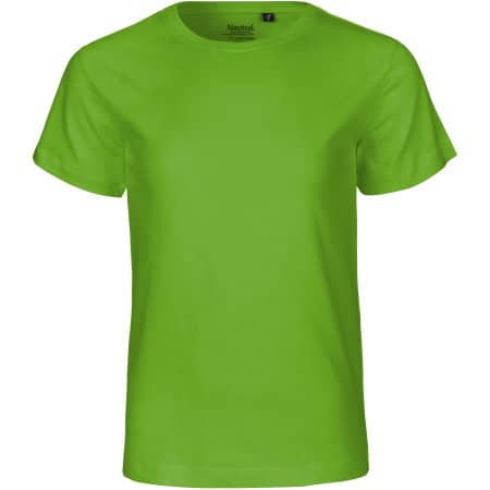 Kids` Short Sleeve T-Shirt von Neutral (Artnum: NE30001
