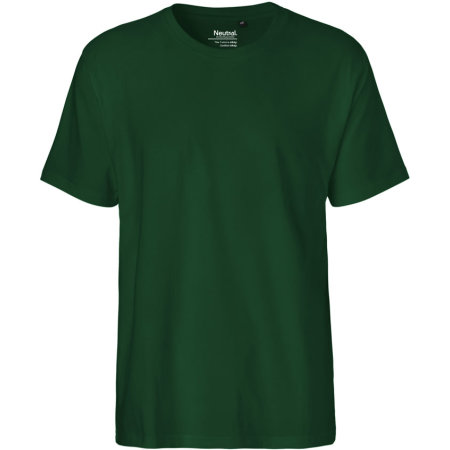 Men`s Classic T-Shirt in Bottle Green von Neutral (Artnum: NE60001