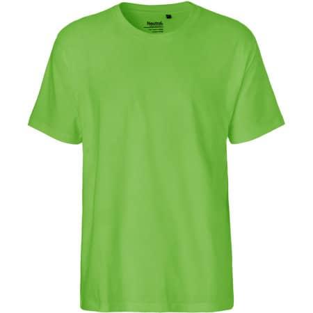 Men`s Classic T-Shirt in Lime von Neutral (Artnum: NE60001
