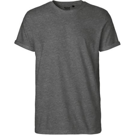 Men`s Roll Up Sleeve T-Shirt in Dark Heather von Neutral (Artnum: NE60012