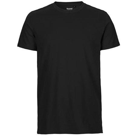 Men`s Fit T-Shirt in Black von Neutral (Artnum: NE61001