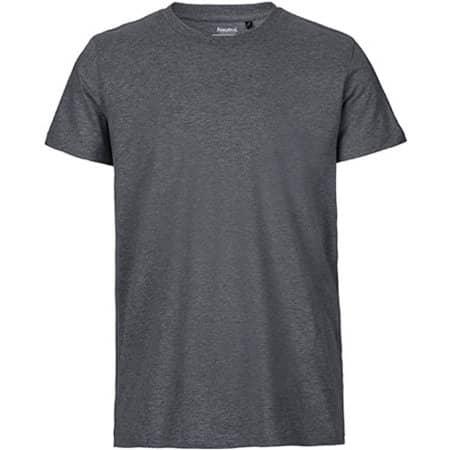 Men`s Fit T-Shirt in Dark Heather von Neutral (Artnum: NE61001