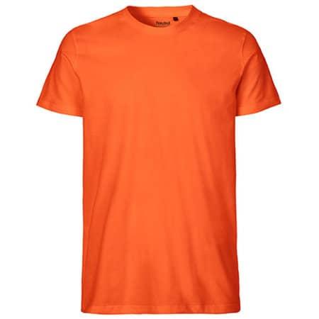 Men`s Fit T-Shirt in Orange von Neutral (Artnum: NE61001