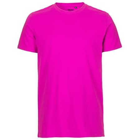 Men`s Fit T-Shirt in Pink von Neutral (Artnum: NE61001