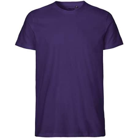 Men`s Fit T-Shirt in Purple von Neutral (Artnum: NE61001