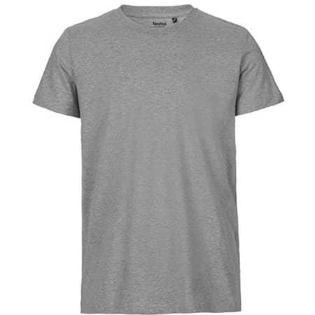 Men`s Fit T-Shirt in Sports Grey von Neutral (Artnum: NE61001