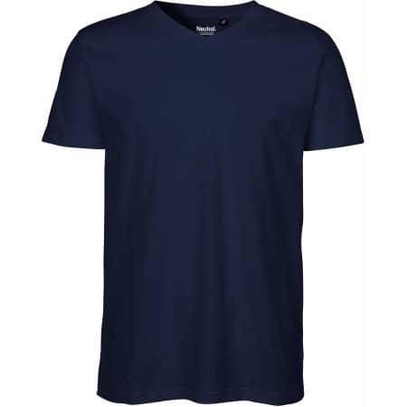 Men`s V-neck T-Shirt von Neutral (Artnum: NE61005