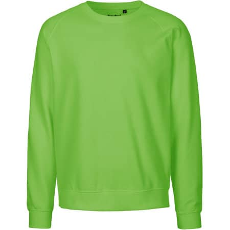 Unisex Sweatshirt Organic in Lime von Neutral (Artnum: NE63001