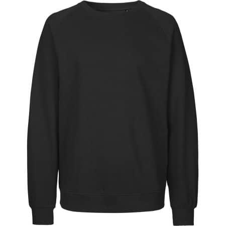 Unisex Sweatshirt Organic in Black von Neutral (Artnum: NE63001